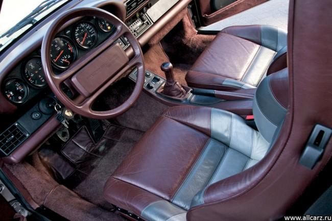 Фото салона Porsche 959