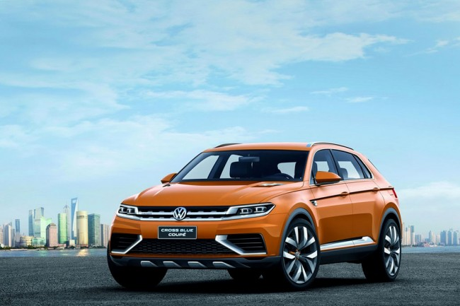 Volkswagen CrossBlue Coupe Concept фото