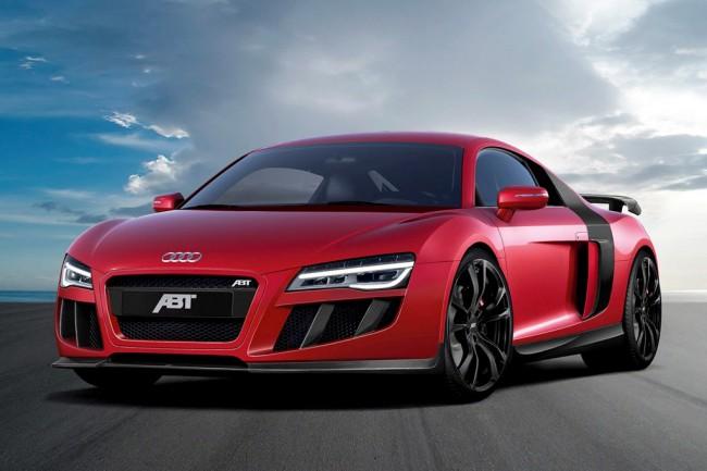 Обвес на Audi R8 V10 от ателье ABT