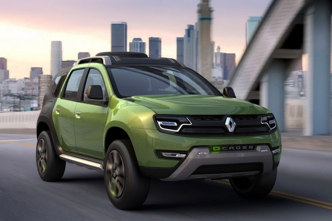 Фото концепта Renault DCross