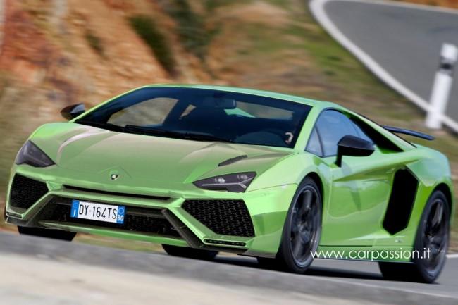 Рендер будущего Lamborghini Cabrera