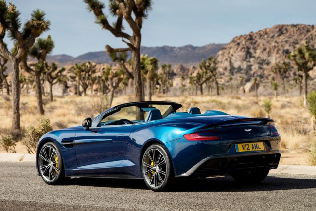 Фото Aston Martin Vanquish Volante 2013