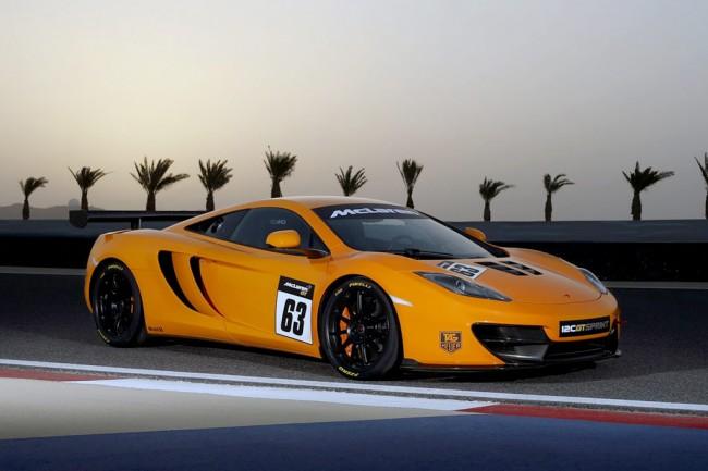 McLaren 12C GT Sprint фото