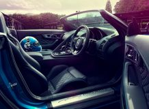 Салон спидстера Jaguar Project 7