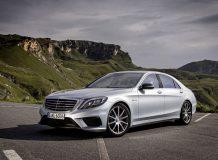 Фото нового Mercedes S63 AMG (W222)