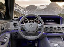 Салон Мерседес S63 AMG W222