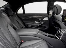Интерьер нового S63 AMG