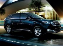 Фото новой Toyota Harrier 2016