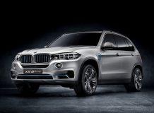 BMW Concept5 X5 eDrive фото