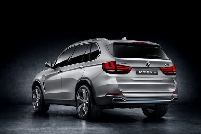 Фото BMW Concept5 X5 eDrive