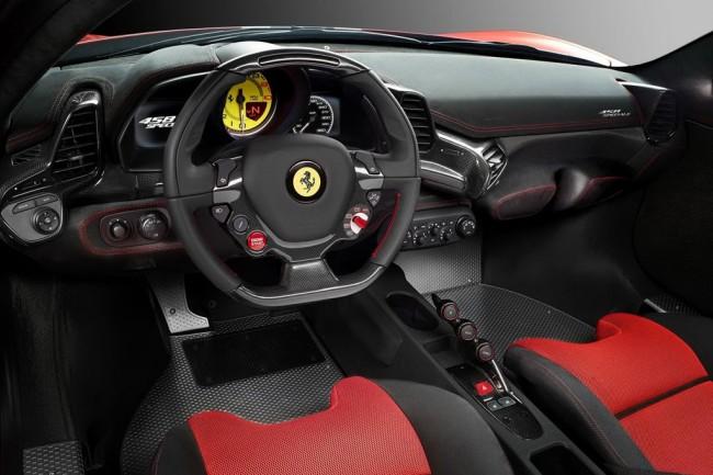 Салон Ферарри 458 Speciale фото