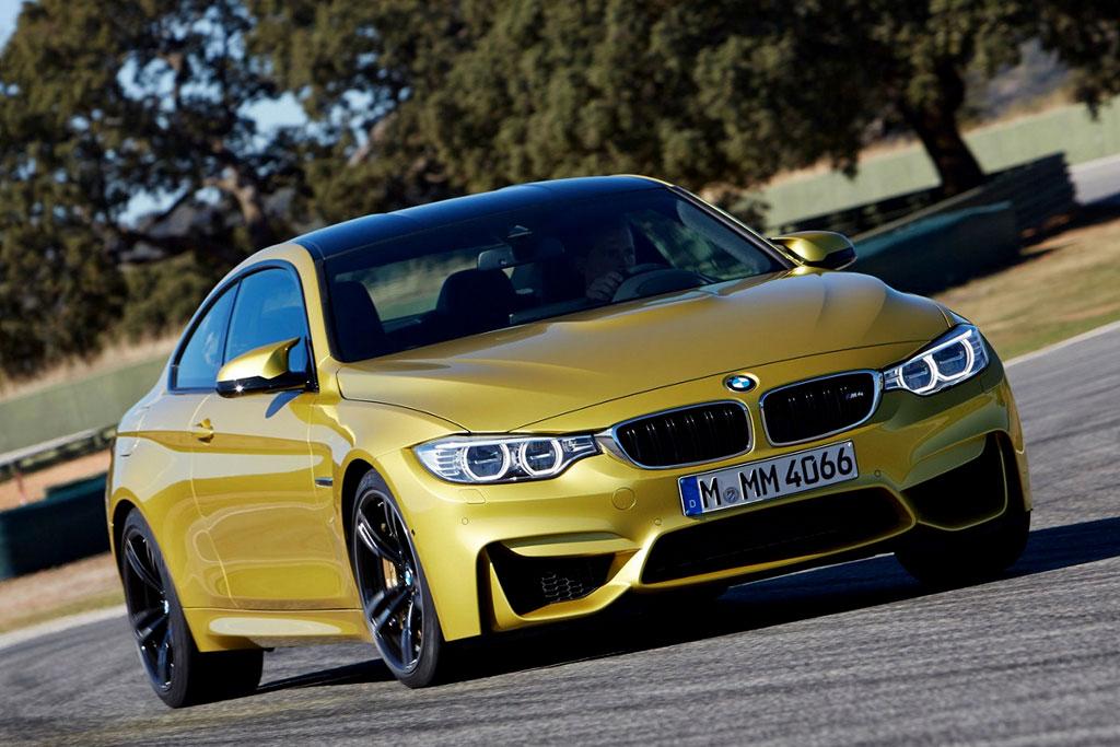 Заряженное купе BMW M4 (F82)