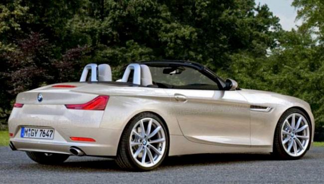 Рендер родстера BMW Z2