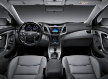 Фото салона Hyundai Elantra 5