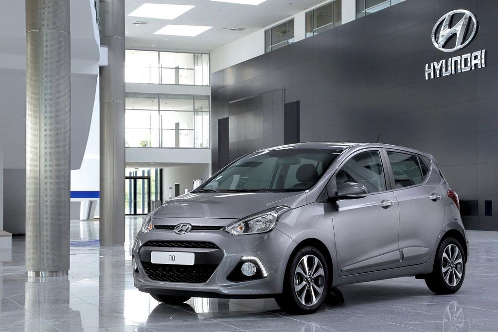 Новый Hyundai i10 2015 фото