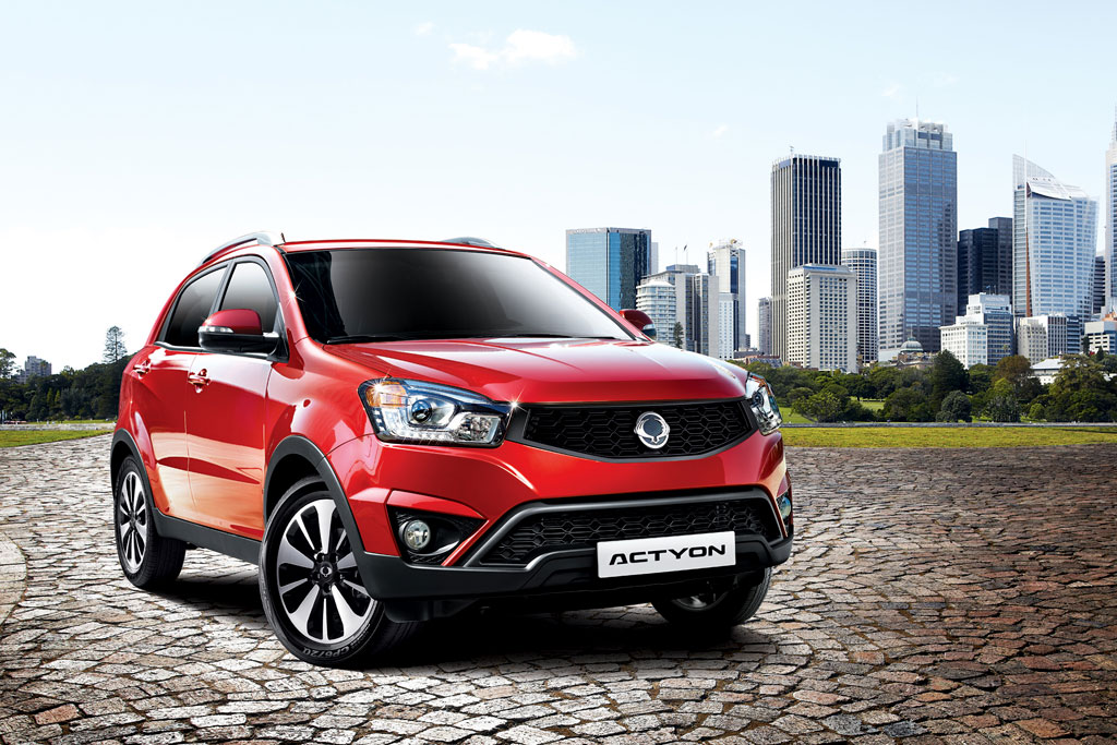 SsangYong New Actyon 2019