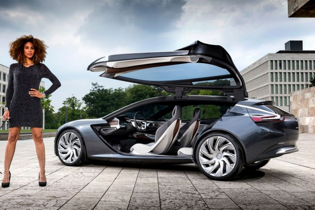 Фото Opel Monza Coupe Concept
