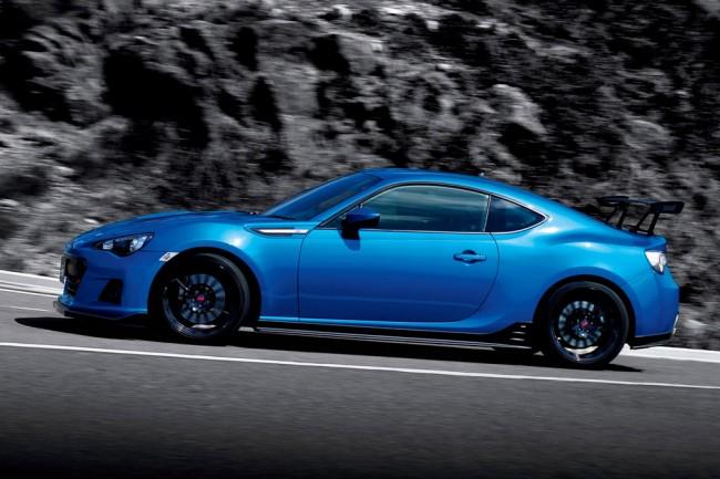 Фото Subaru BRZ tS с пакетом GT