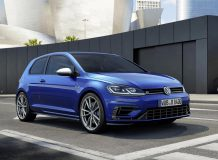 Новый Volkswagen Golf R 2017 фото