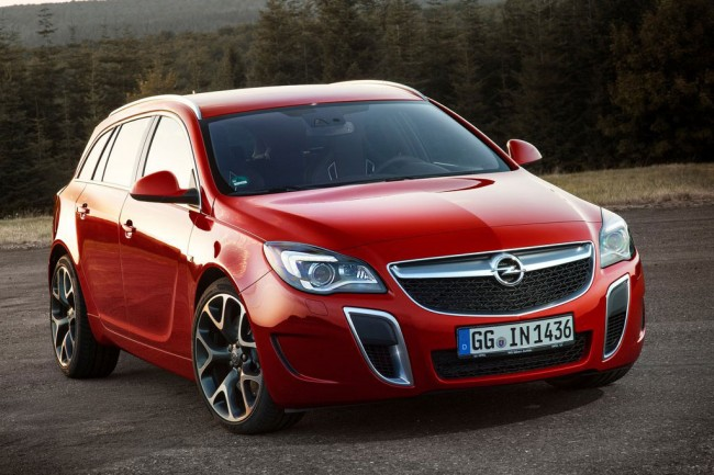 Opel Insignia OPC Sports Tourer 2014 фото
