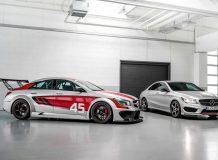 Mercedes CLA 45 AMG Racing Series фото