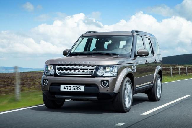 Внедорожник Land Rover Discovery 4