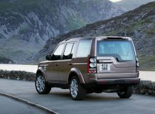 Фото Land Rover Discovery 2015 года