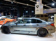 Фото тюнинг BMW M6 Gran Coupe от Hamann
