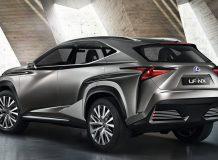 Lexus LF-NX Concept фото