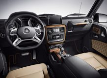 Фото салона Mercedes G-класса кабриолет