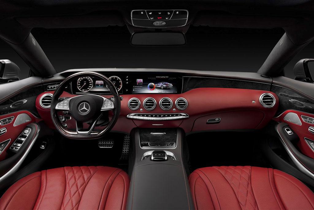 Салон Mercedes S-Class Coupe C217