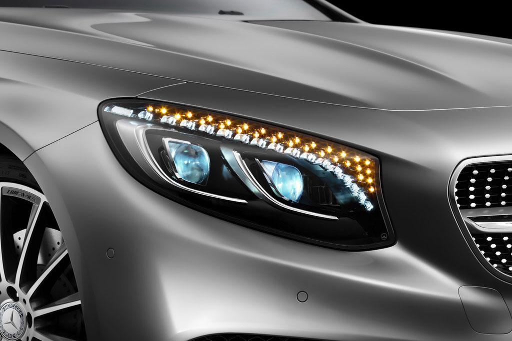 Оптика Mercedes S-Class Coupe