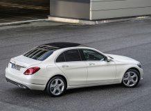 Фото Mercedes C-Class в новом кузове W205