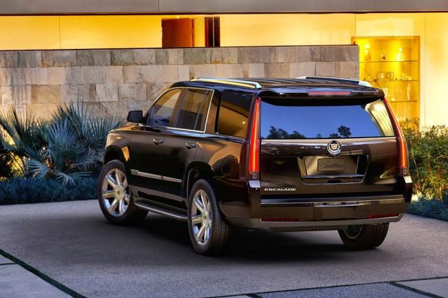 Новый Cadillac Escalade 4 2019