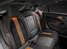 Интерьер Mercedes CLA Orange Art