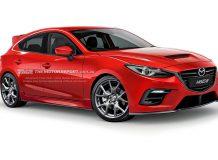 Рендер новой Mazda 3 MPS 2015