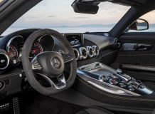 Фото салона Мерседес AMG GT