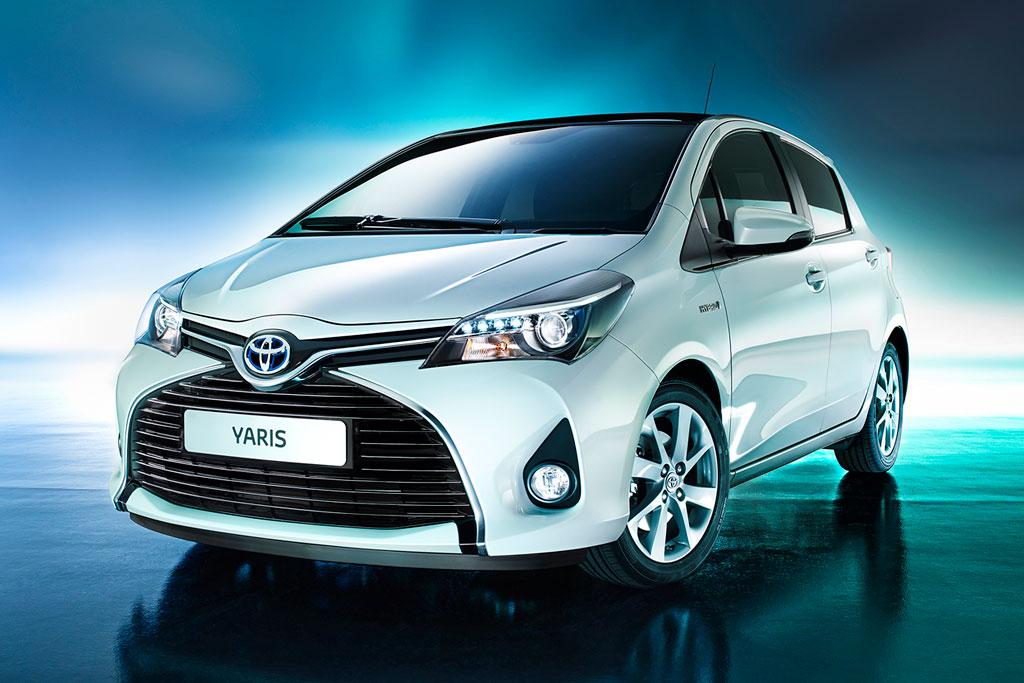 Новая Toyota Yaris 2016