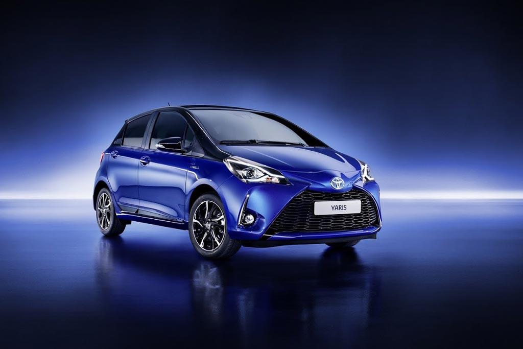 Новая модель Toyota Yaris 2018