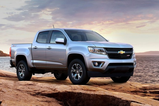 Chevrolet Colorado II генерации для США