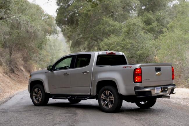 Обновленный Chevrolet Colorado 2017