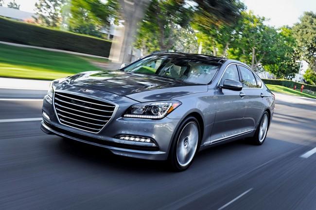 Новый Hyundai Genesis 2 поколения