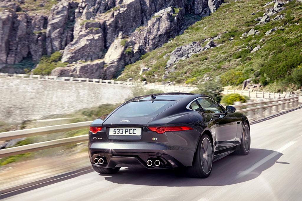 Фото Jaguar F-Type Coupe R