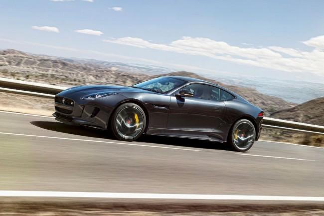 Обновленный Jaguar F-Type Coupe 2016