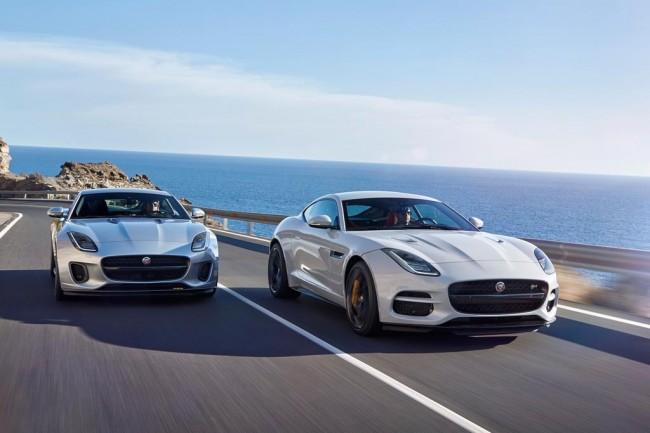Обновленный Jaguar F-Type 2018