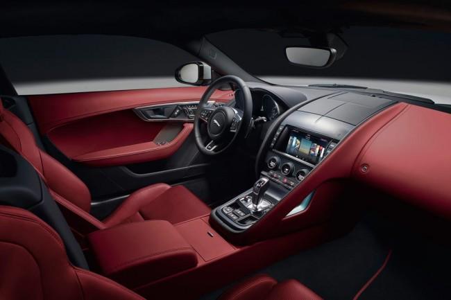 Салон Jaguar F-Type Coupe