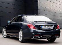 Фото Мерседес-АМГ S 65 в новом кузове