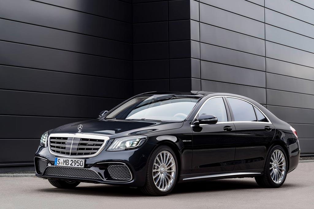 Обновленный Mercedes-AMG S 65 2018