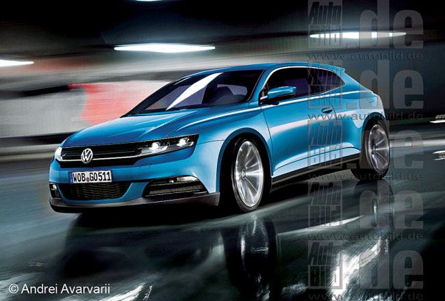Рендер будущего VW Scirocco 4