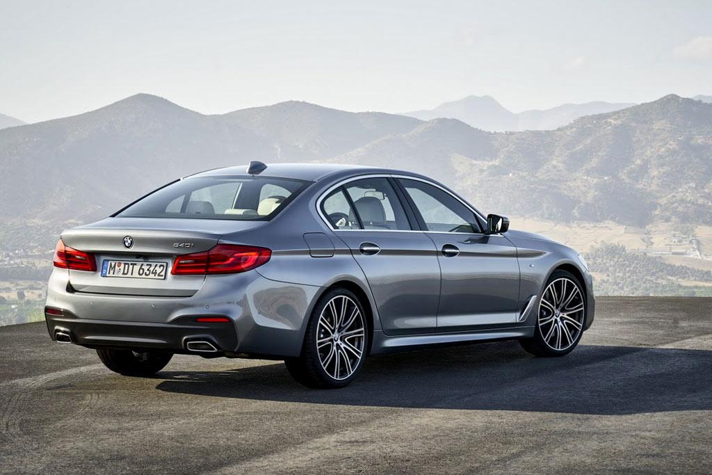 BMW 5er G30 2017-2018